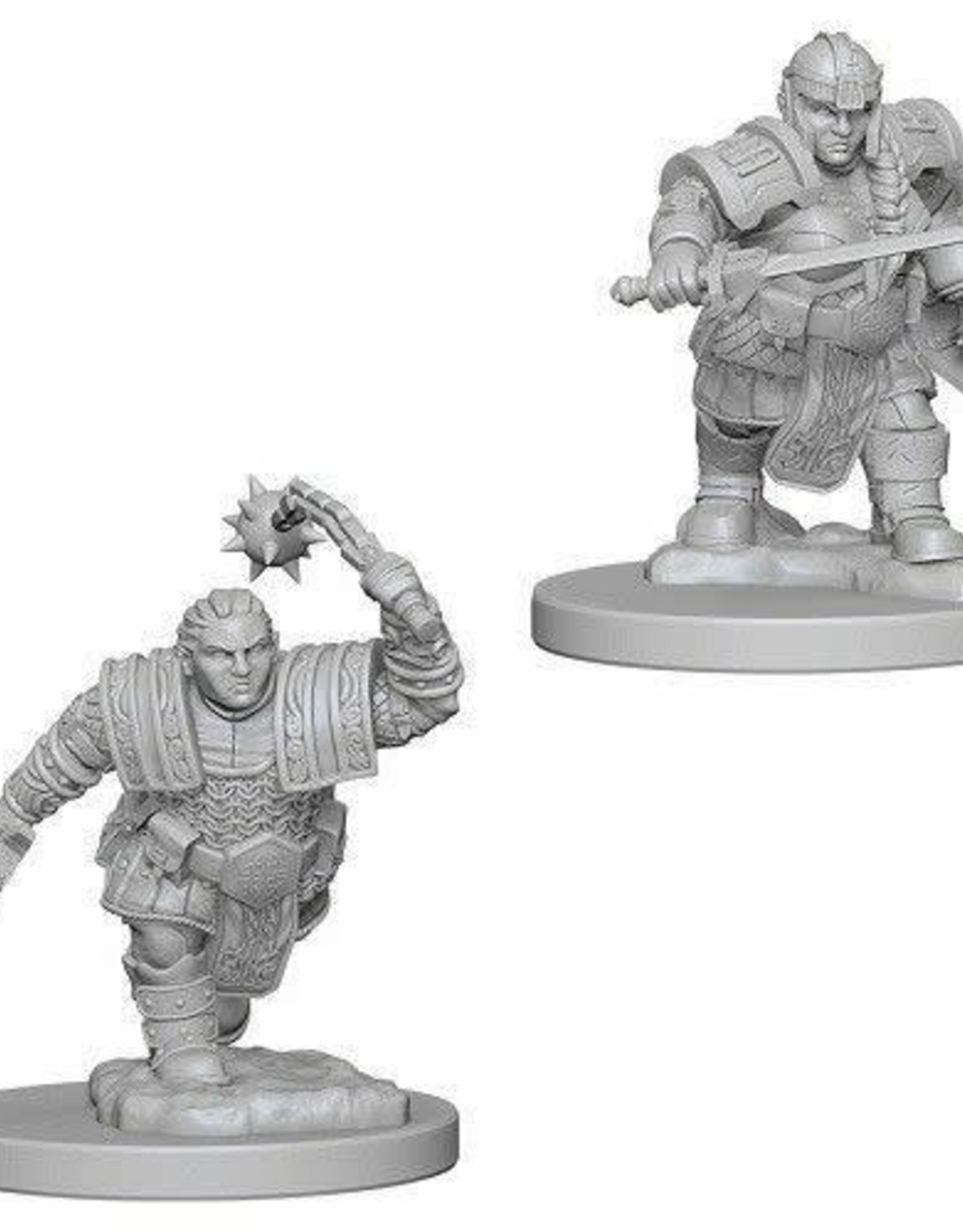 WizKids D&D Nolzur Dwarf Fighter (She/Her/They/Them)