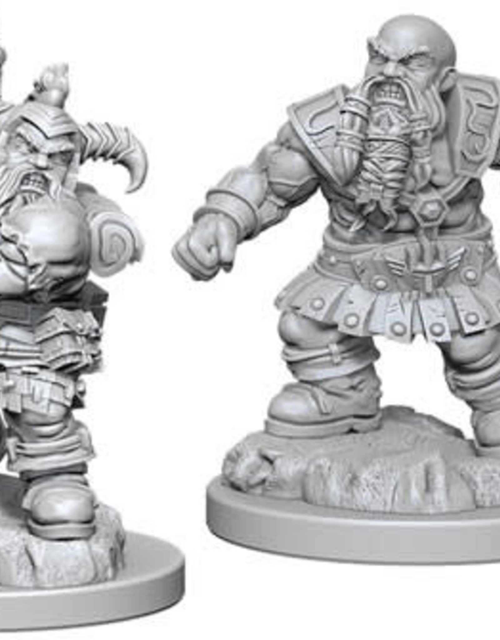 WizKids D&D Nolzur Dwarf Barbarian  (He/Him/They/Them)