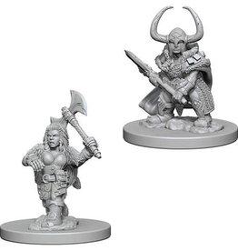 WizKids D&D Nolzur Dwarf Barbarian (She/Her/They/Them)