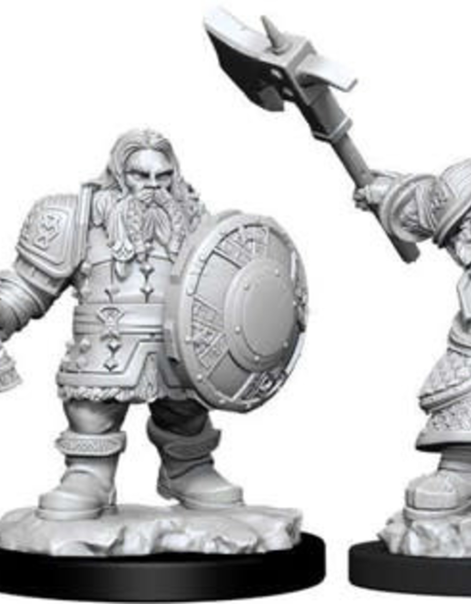 WizKids D&D Nolzur Dwarf Fighter  (He/Him/They/Them)