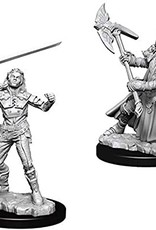 WizKids D&D Nolzur Half-Orc Fighter (She/Her/They/Them)