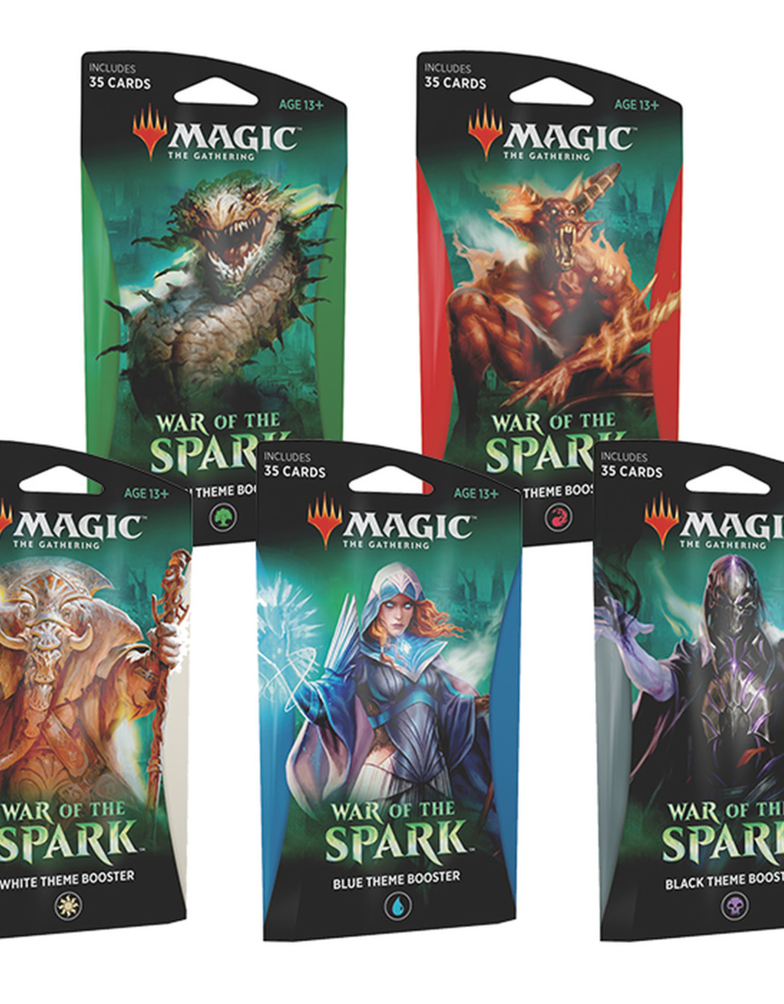 Wizards of the Coast MTG War of the Spark Theme Booster