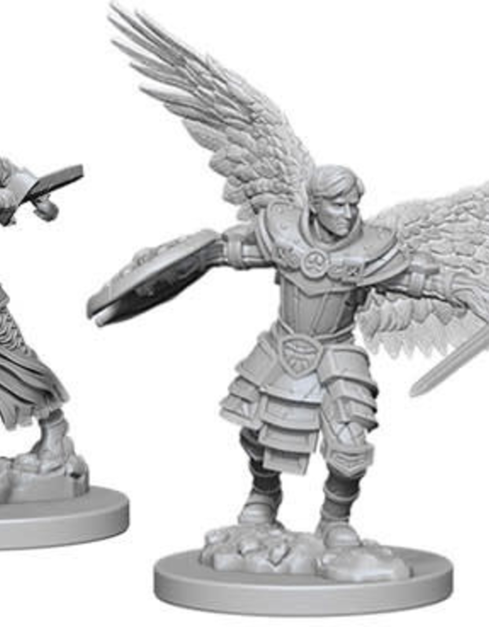 WizKids D&D Nolzur Aasimar Fighter  (He/Him/They/Them)