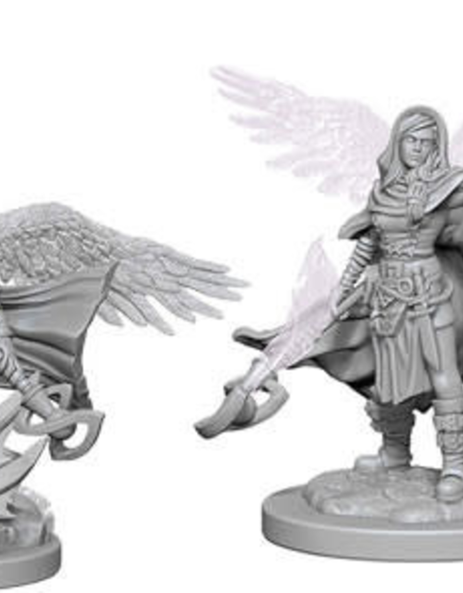 WizKids D&D Nolzur Aasimar Wizard (She/Her/They/Them)