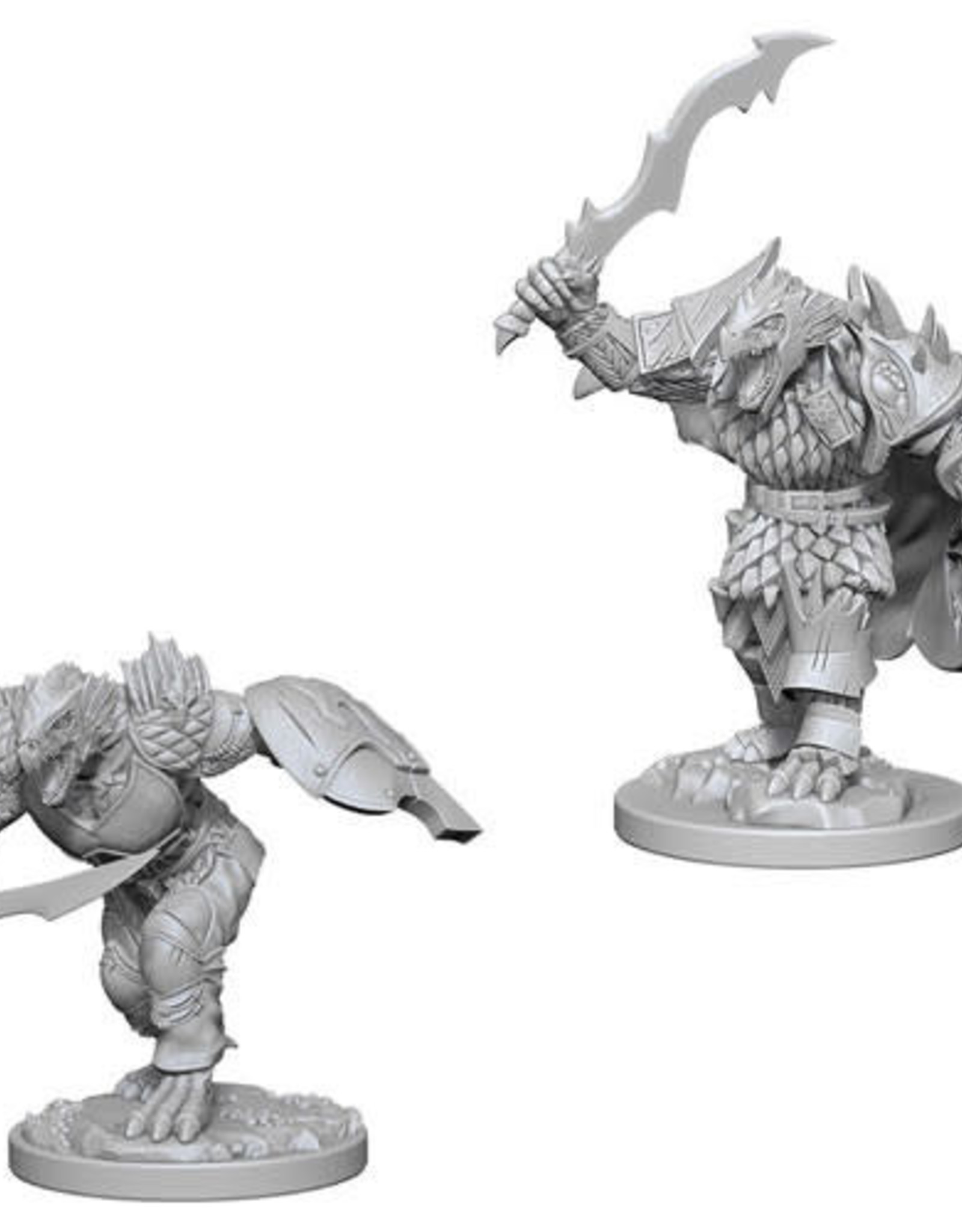 WizKids D&D Nolzur Dragonborn Fighter  (He/Him/They/Them)