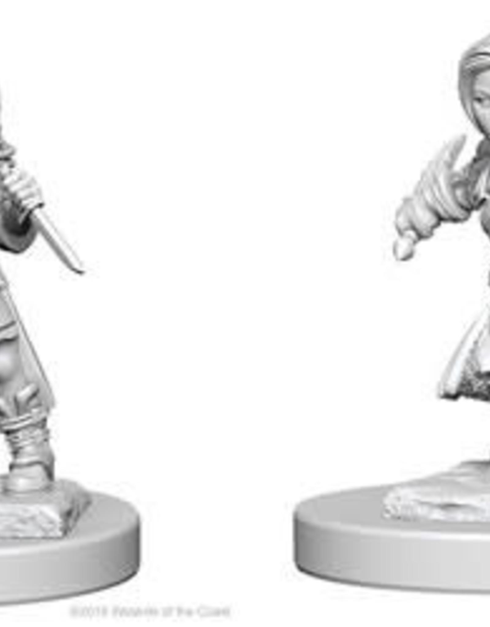 WizKids D&D Nolzur Halfling Rogue (She/Her/They/Them)