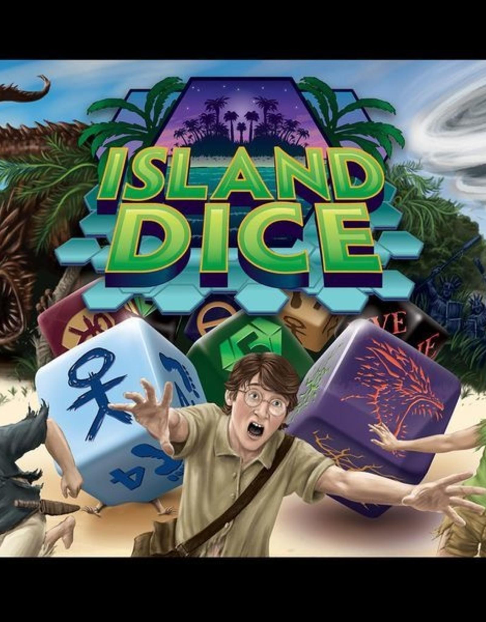 Casual Dragon Games Island Dice