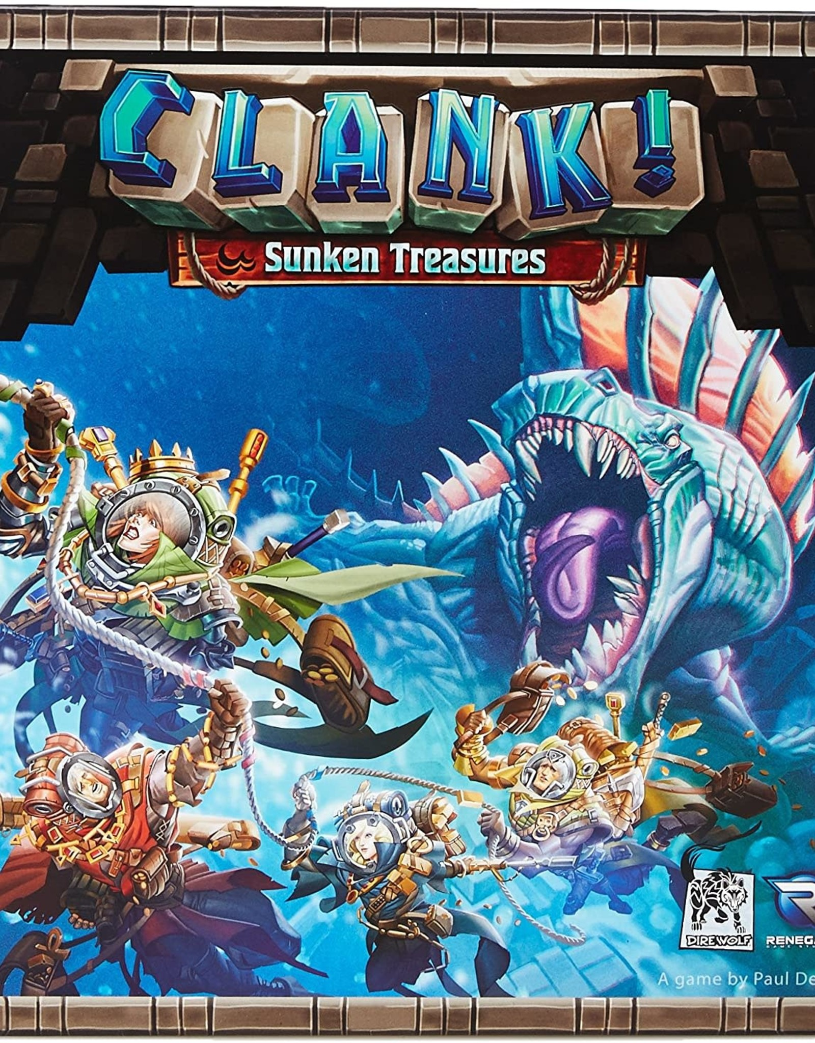 Renegade Game Studios Clank! Sunken Treasures