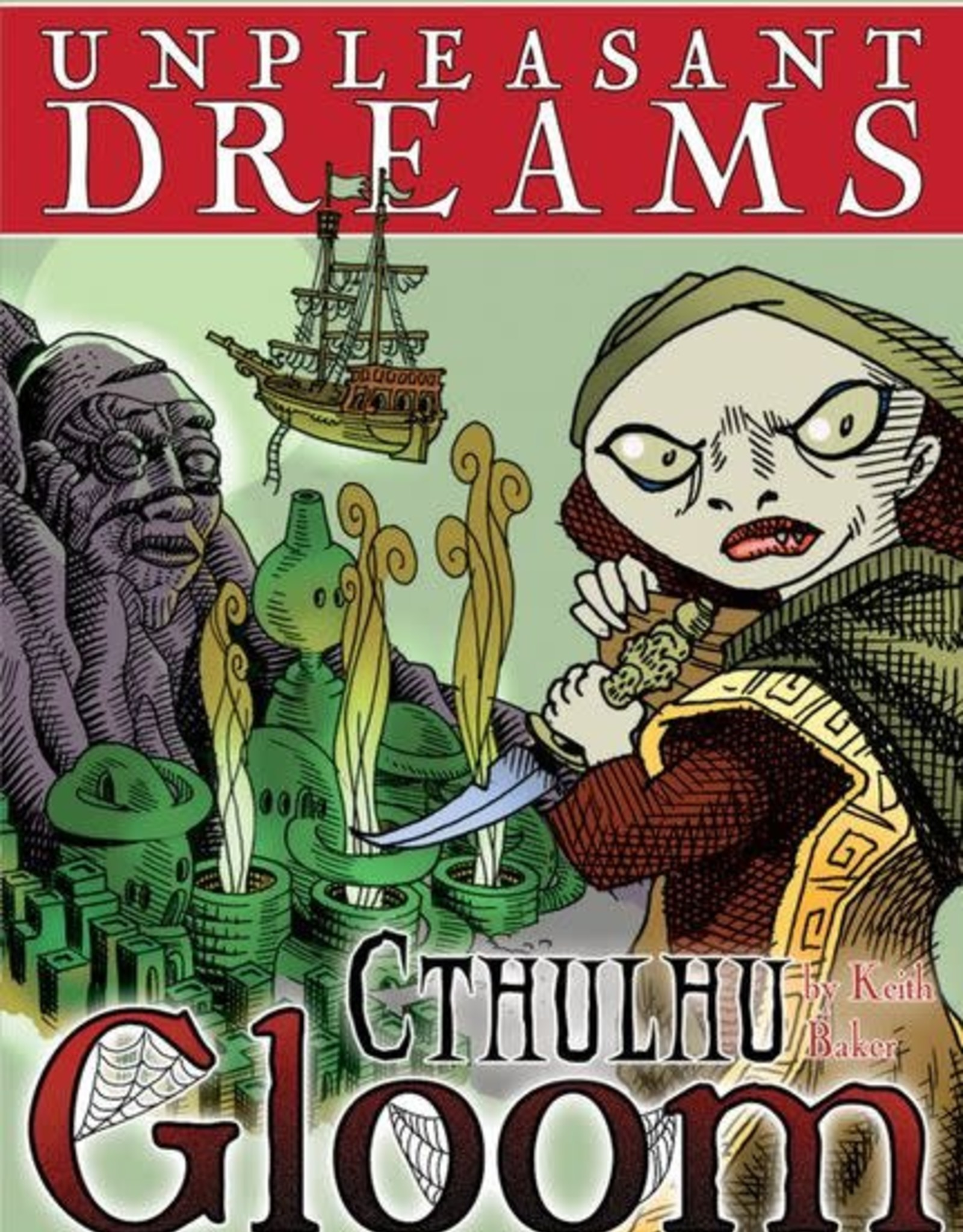 Atlas Games Cthulhu Gloom:Unpleasant Dreams