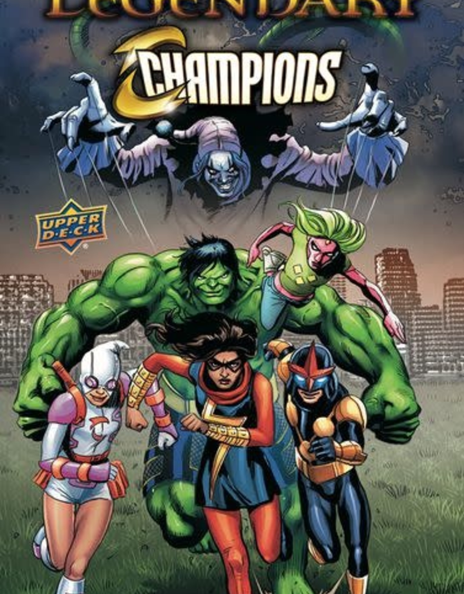 Upper Deck Legendary Champions Marvel