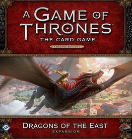Fantasy Flight Games A Game of Thrones: The Card Game (Second Edition) – Dragons of the East
