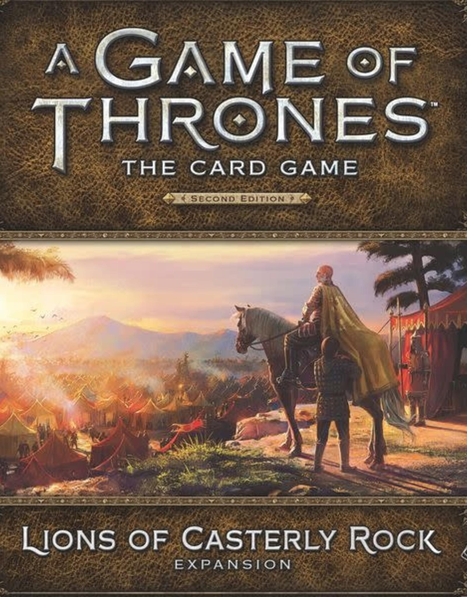Fantasy Flight Games AGOT LCG 2nd Ed: Lions of Casterly Rock