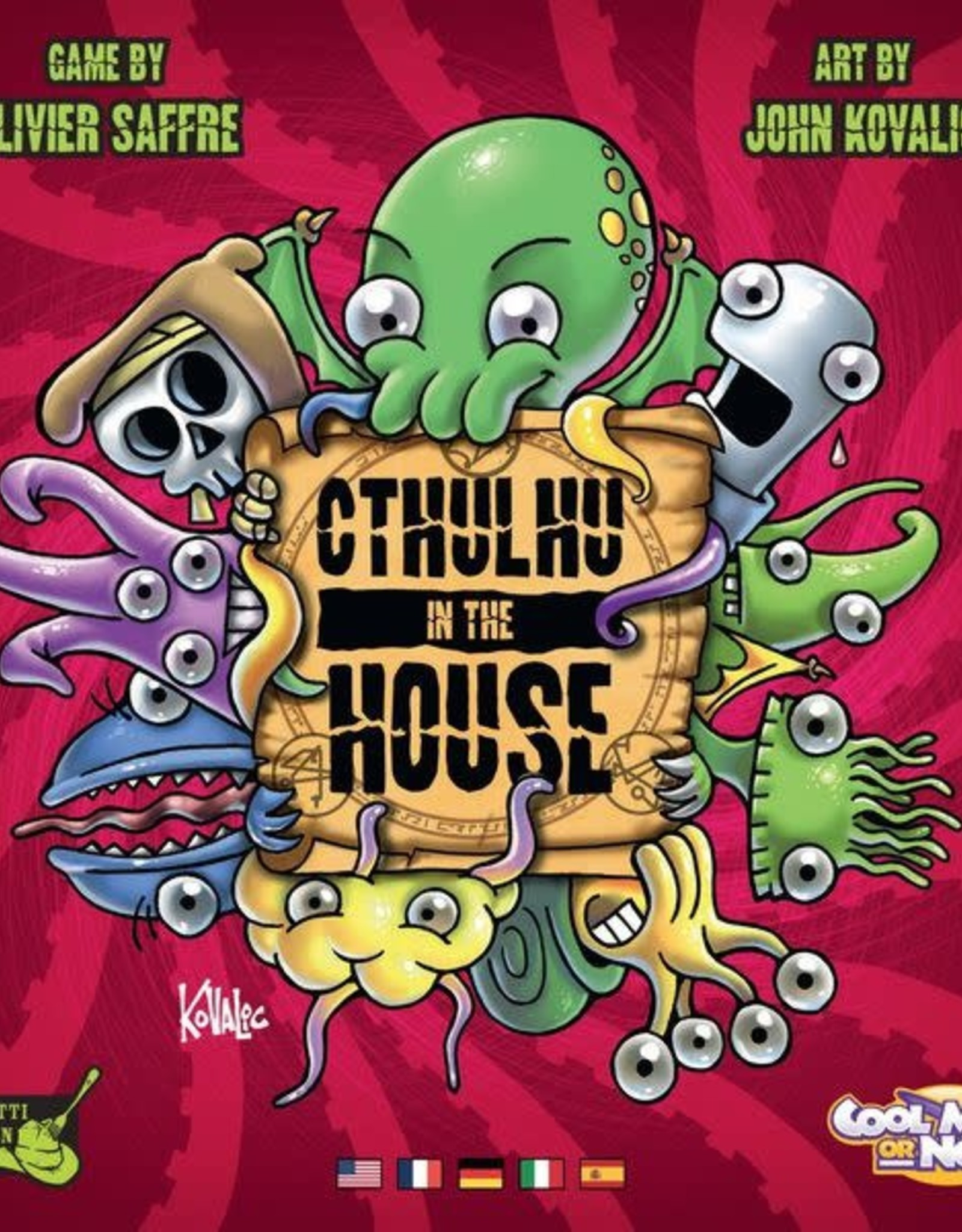 CMON Cthulhu In The House