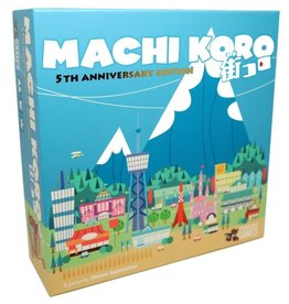 Pandasaurus Games Machi Koro 5th Anniversary Ed.