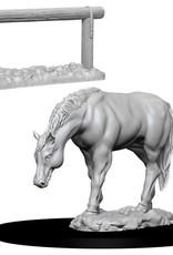 WizKids Deep Cuts Horse & Hitch