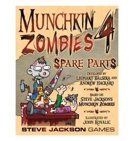 Steve Jackson Games Munchkin Zombies 4 Spare Parts