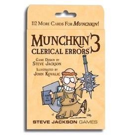 Steve Jackson Games Munchkin 3 Clerical Error