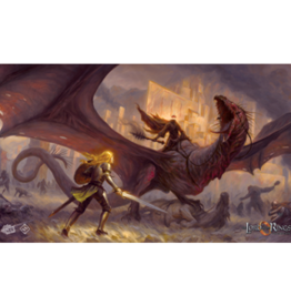 Fantasy Flight Games LOTR: Flame of the West Playmat