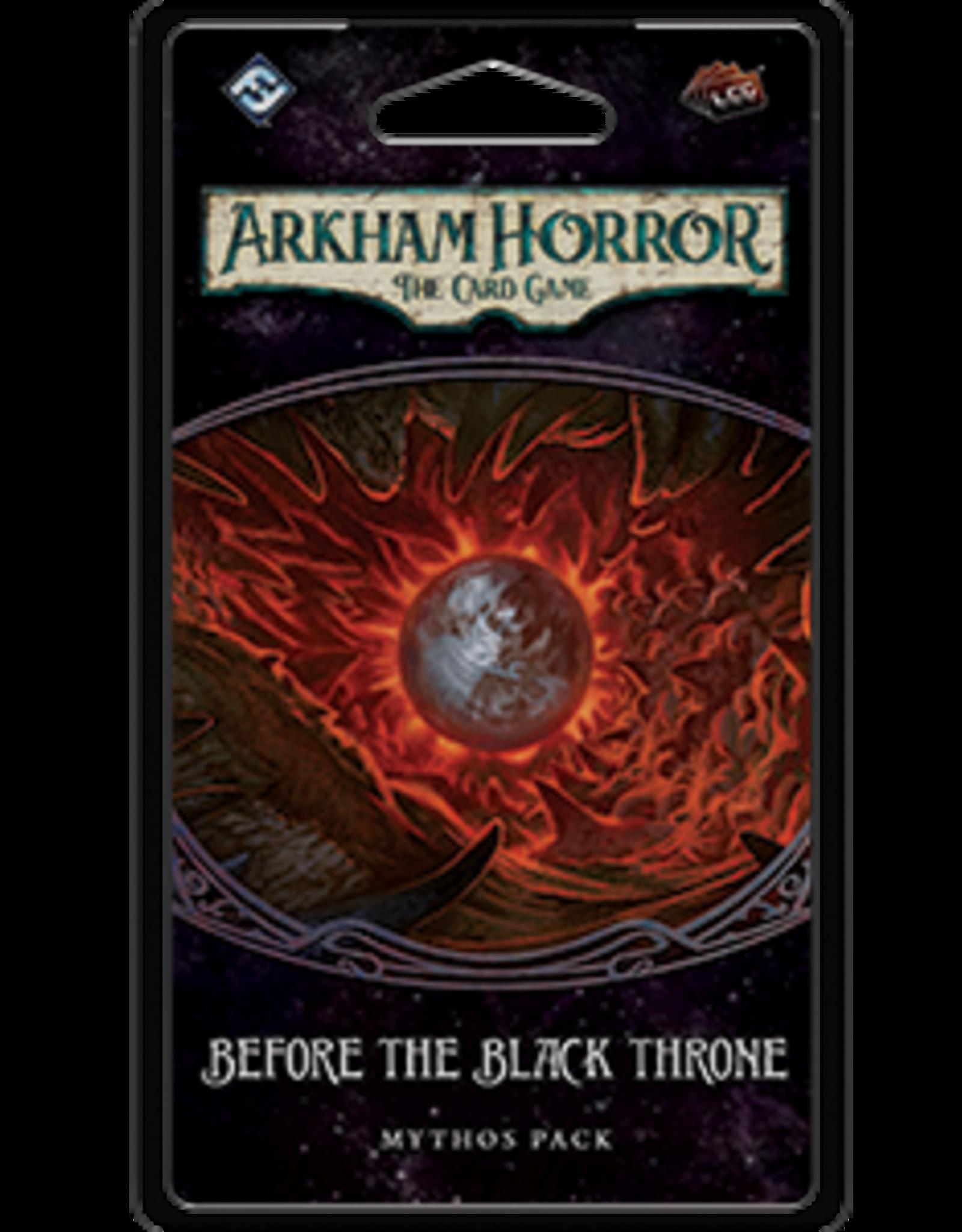 Fantasy Flight Games AH LCG: Before the Black Throne
