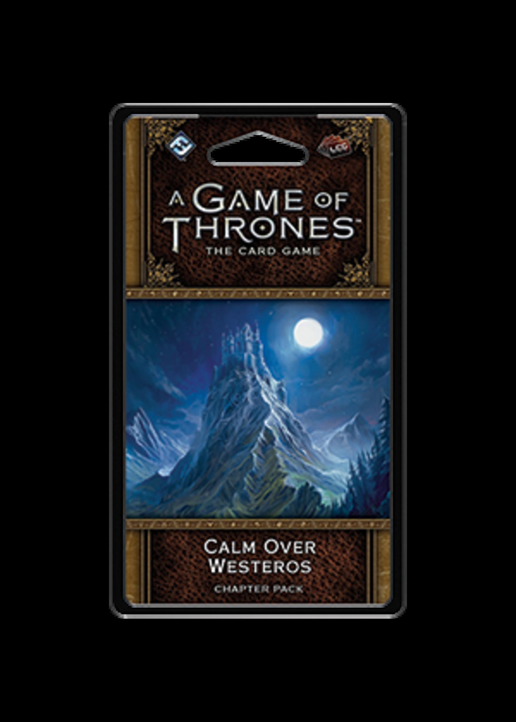 Fantasy Flight Games AGOT LCG 2nd Ed: Calm Over Westeros