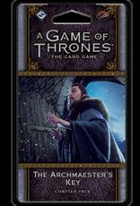 Fantasy Flight Games AGOT LCG 2nd Ed: The Archmaester's Key