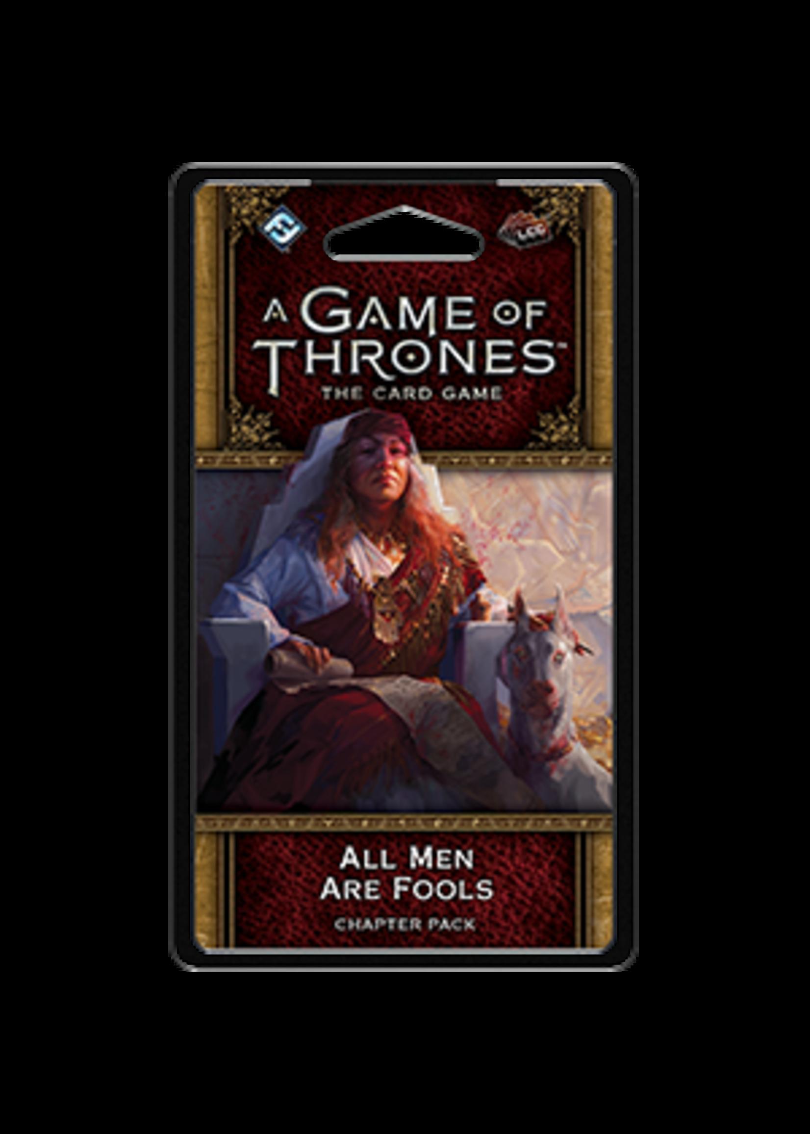Fantasy Flight Games AGOT LCG 2nd Ed: All Men Are Fools