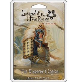 Fantasy Flight Games L5R LCG: The Emperor's Legion Clan Pack