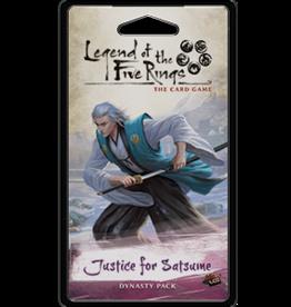 Fantasy Flight Games L5R LCG: Justice for Satsume