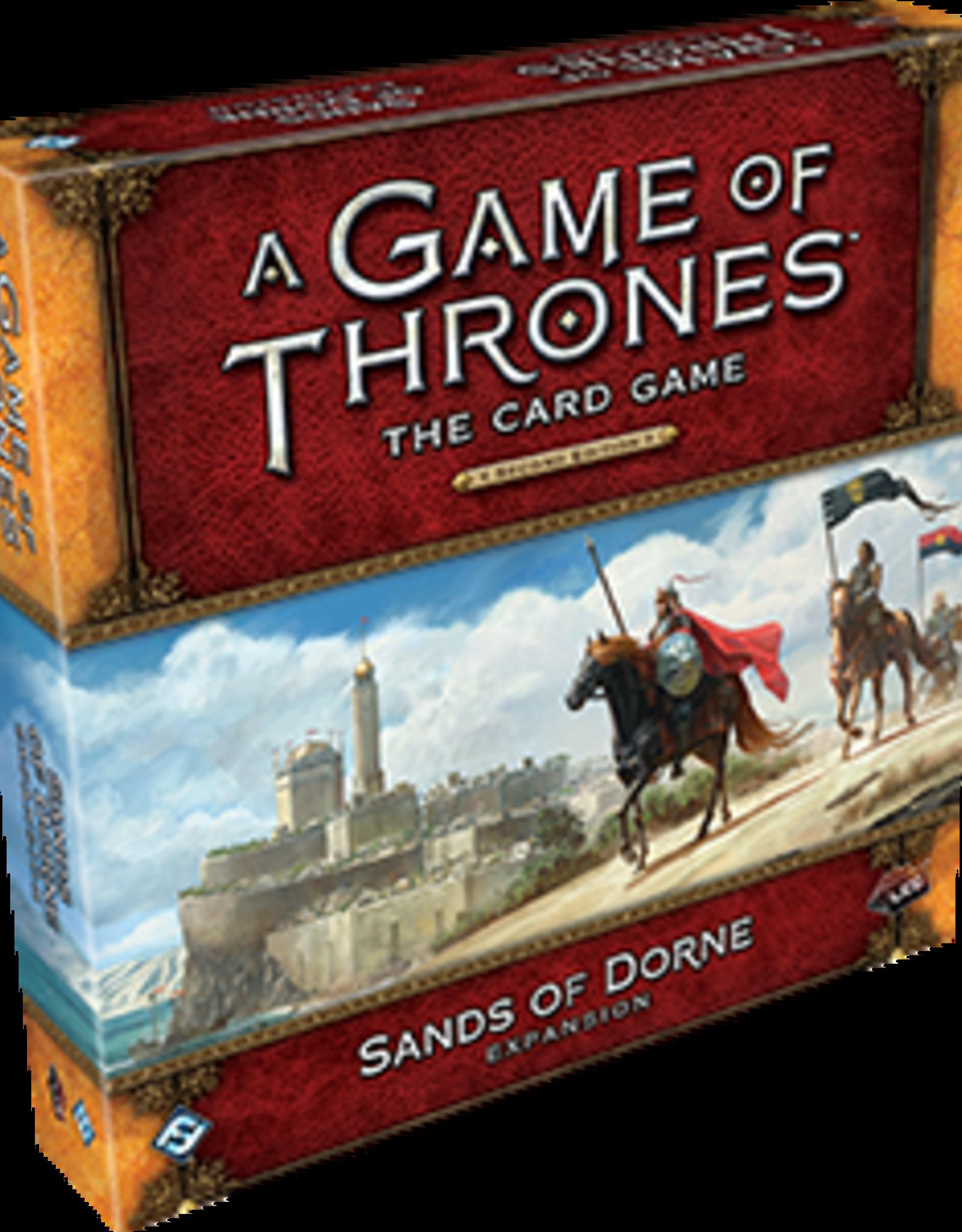 Fantasy Flight Games AGOT LCG 2nd Ed: The Sands of Dorne Delu