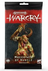 Games Workshop AoS: Warcry: Nurgle Daemons Cards