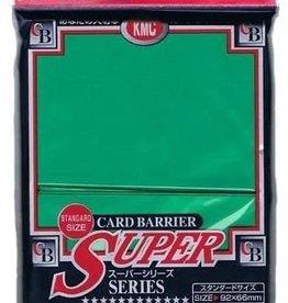 KMC Sleeves Super Green KMC