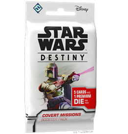 Fantasy Flight Games SW Destiny: Covert Missions Booster Pack