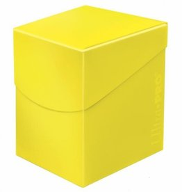 Ultra Pro Lemon Yellow 100+ Pro Eclipse Deck Box