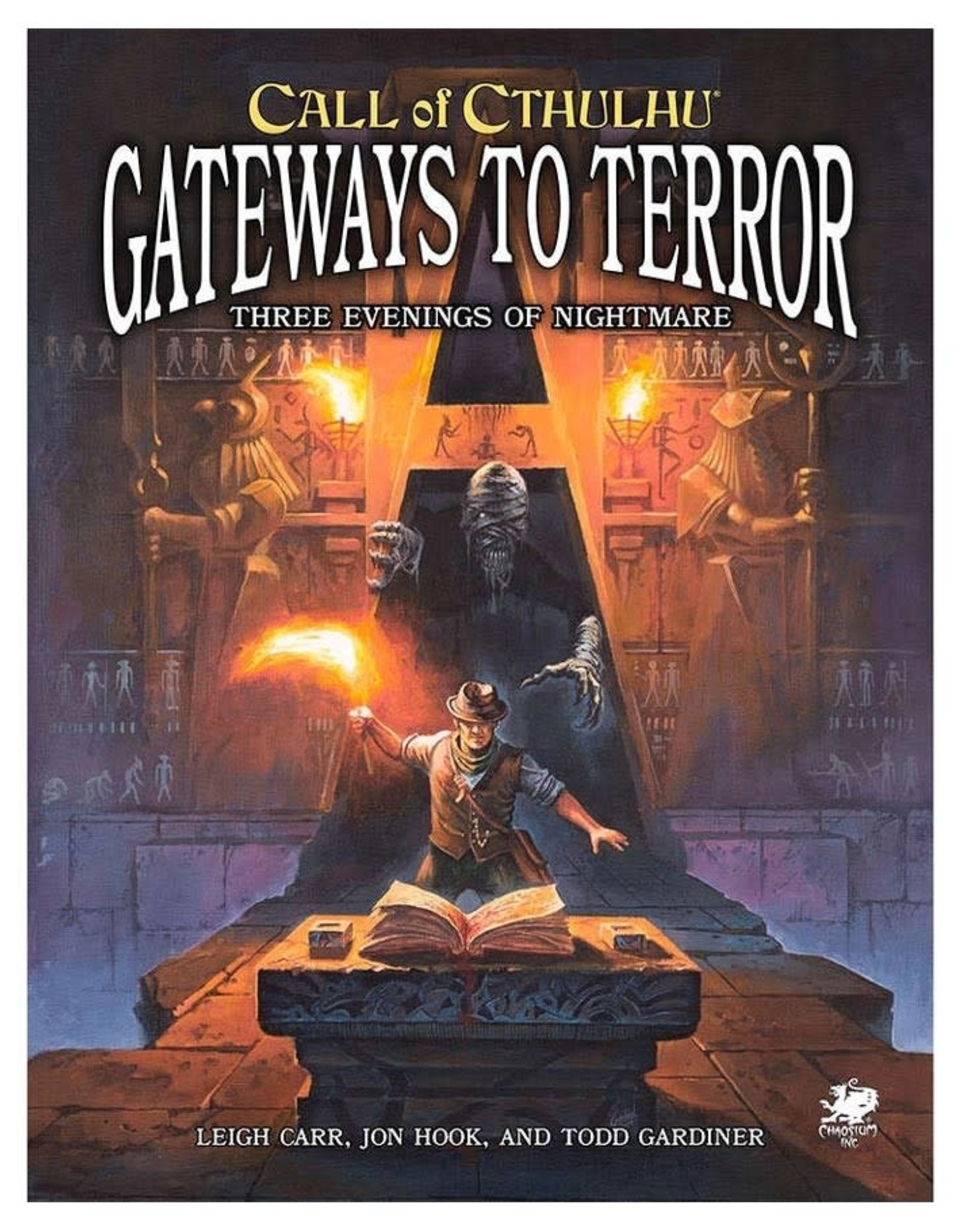 Chaosium Call of Cthulhu: Gateways to Terror