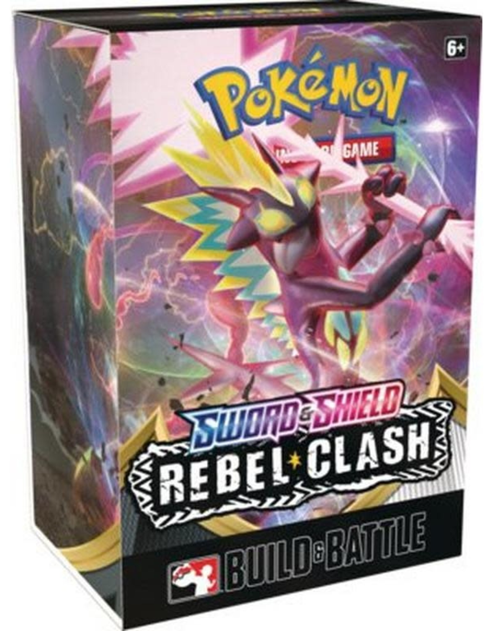 Pokemon Rebel Clash Sword & Shield Build and Battle Kit