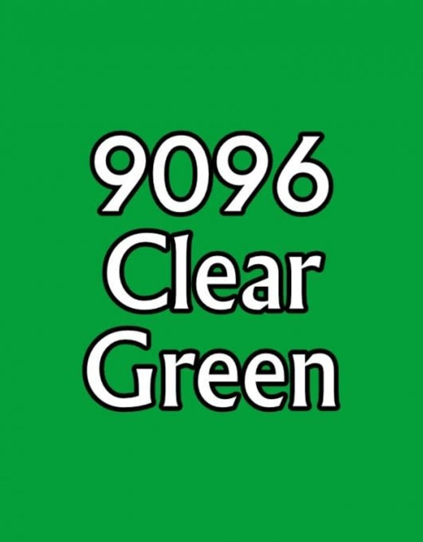 Reaper Clear Green