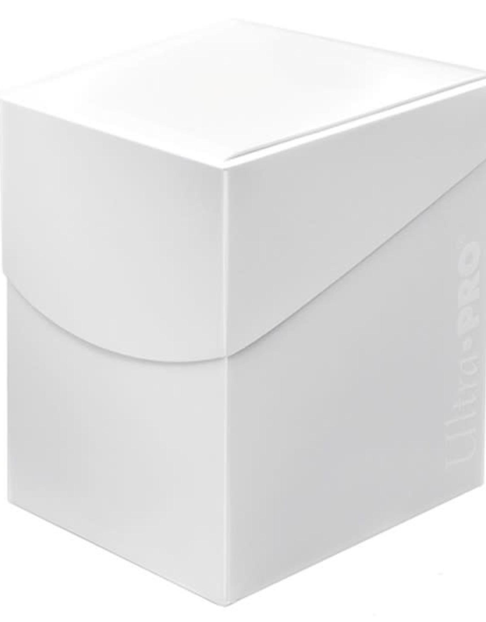 Ultra Pro Arctic White 100+ Pro Eclipse Deck Box