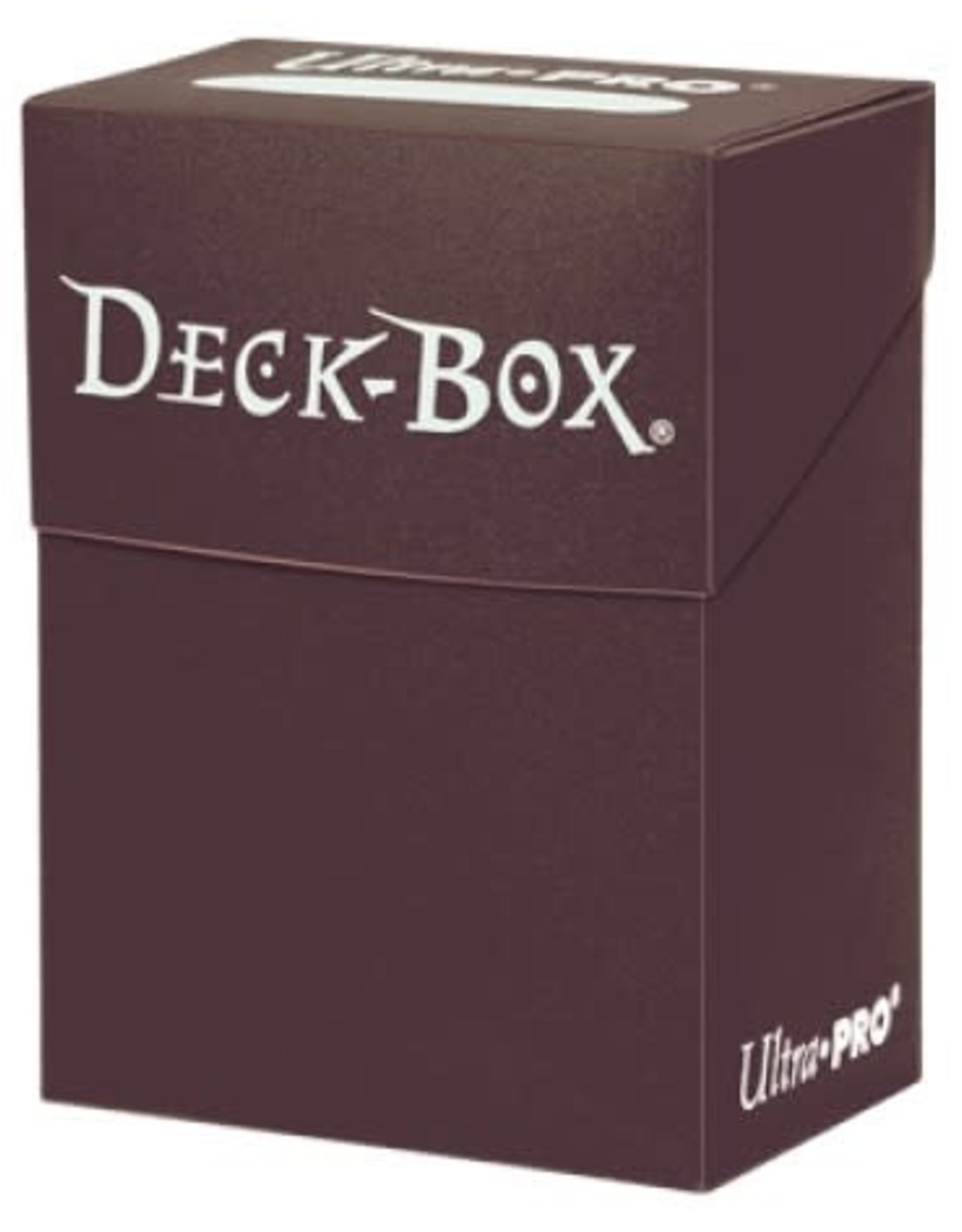 Ultra Pro Deck Box: Solid Brown