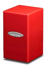 Ultra Pro Satin Tower Deck Box: Red