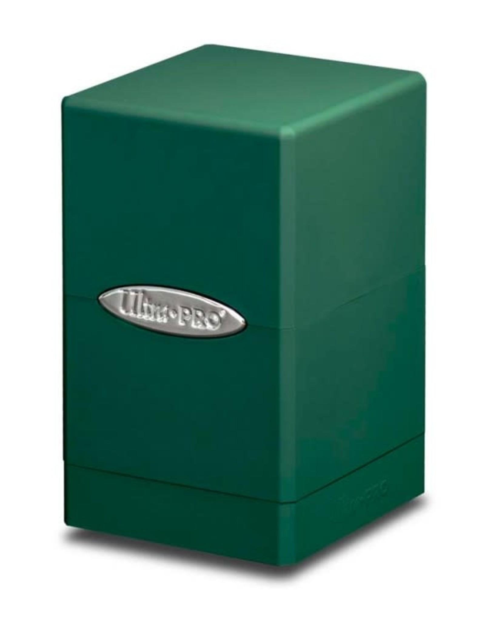 Ultra Pro Satin Tower Deck Box: Green