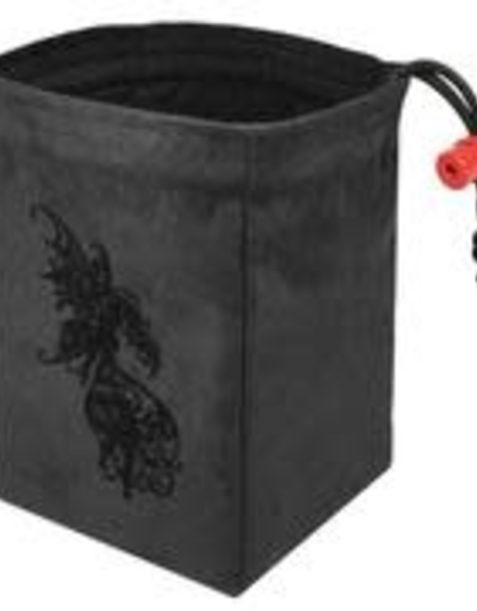 Red King Embroidered Bag: Baroque Dark Fairy