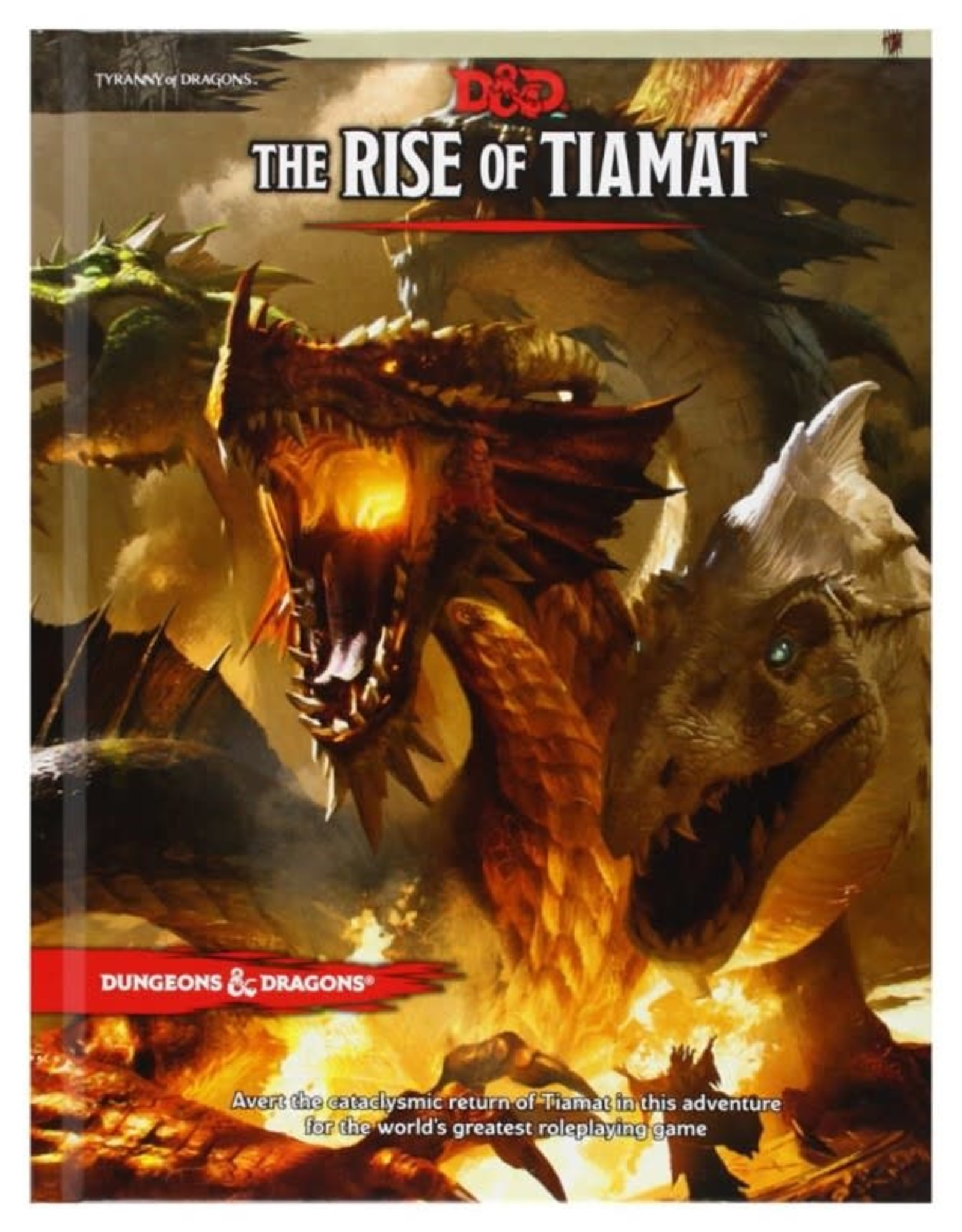 Wizards of the Coast D&D 5th: The Rise of Tiamat