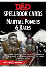 Gale Force 9 D&D 5th: Spellbook Cards: Martial Powers & Races (small packaging)