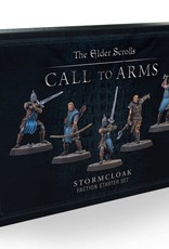 Modiphius Elder Scrolls: Call to Arms: Plastic Stormcloak Faction Starter Set