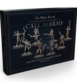 Modiphius Elder Scrolls: Call to Arms: Plastic Bleak Falls Barrow Delve Set