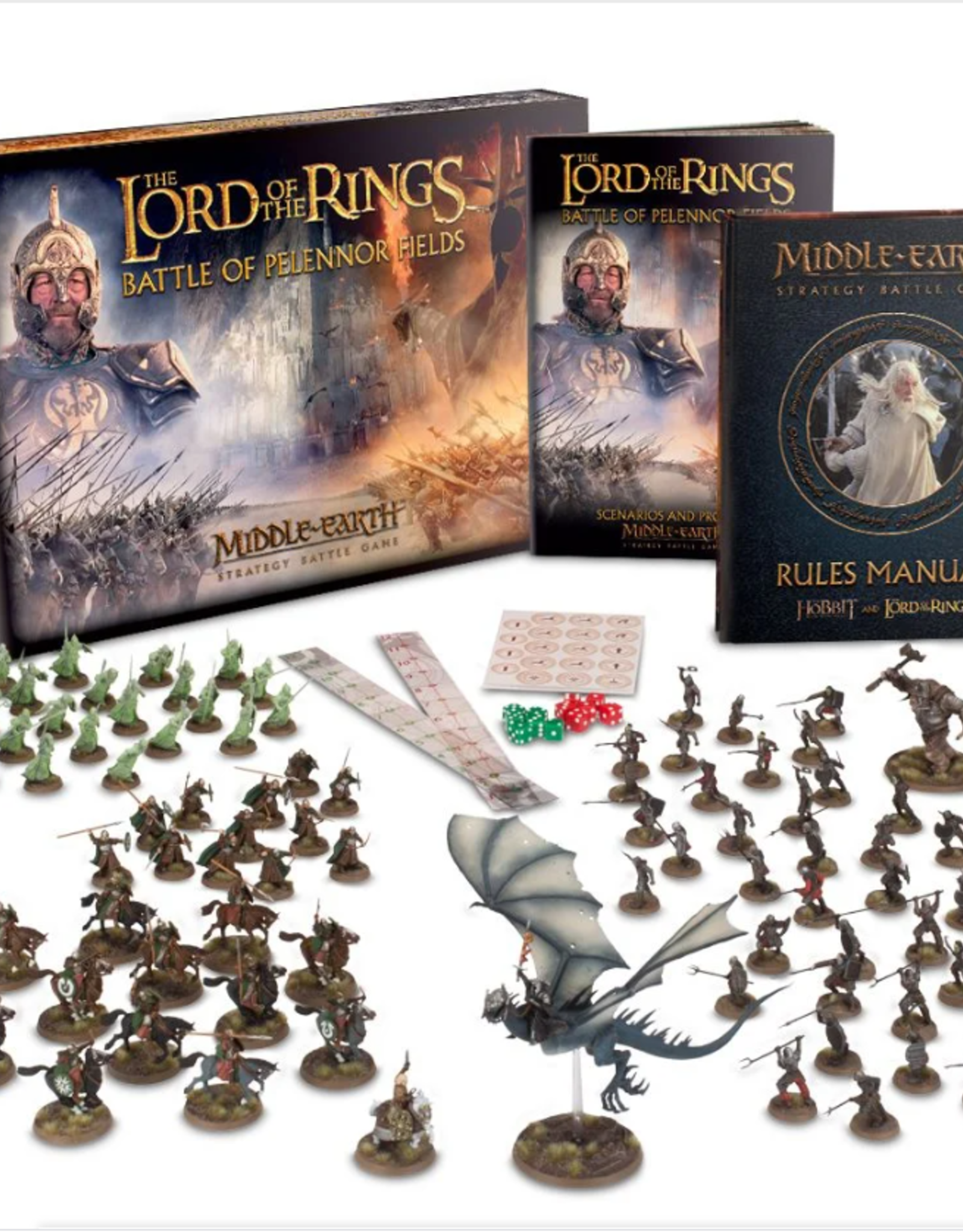 Games Workshop LOTR: BATTLE OF PELENNOR FIELDS (ENG)