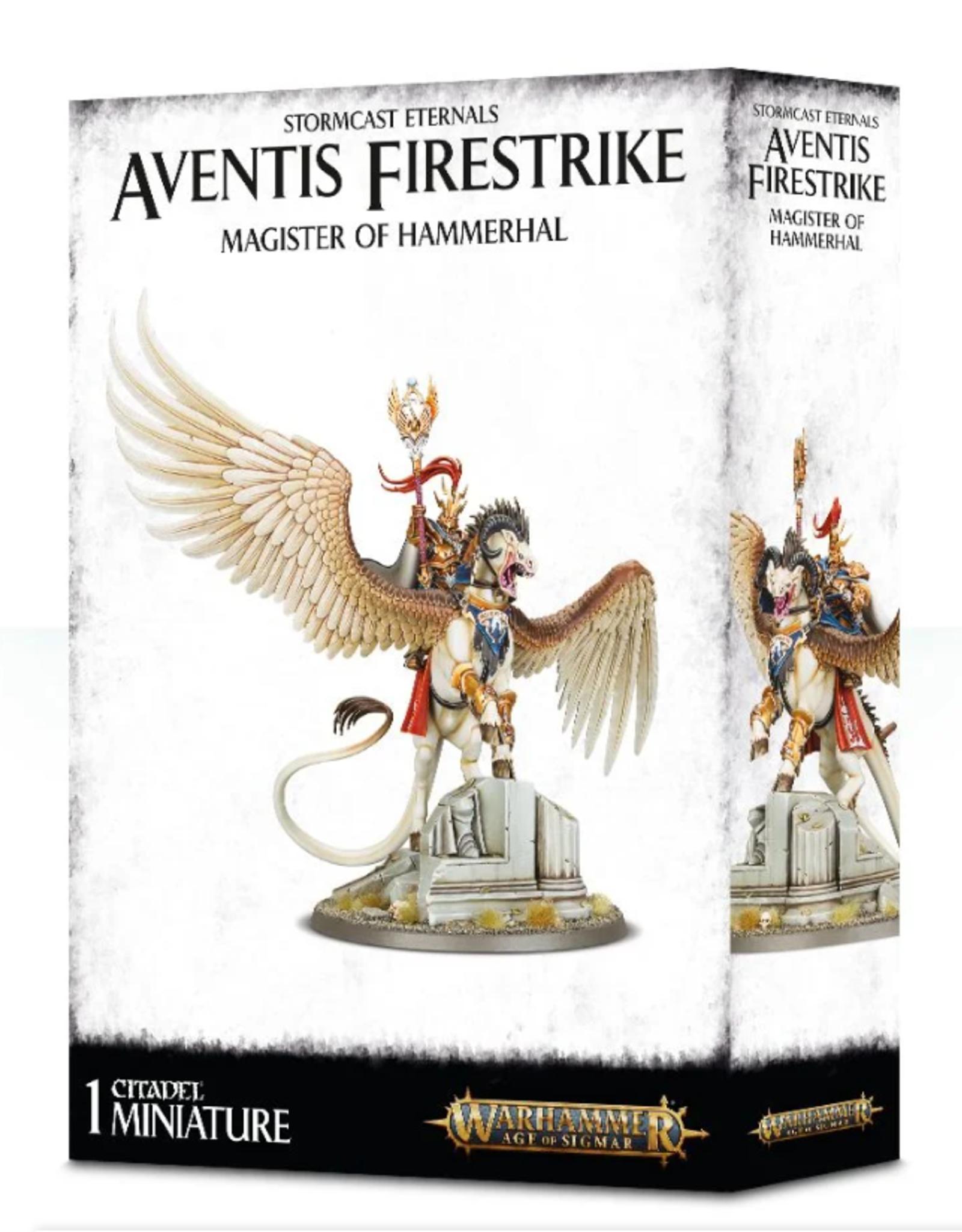 Games Workshop Stormcast Eternals Aventis Firestrike Magister of Hammerhal