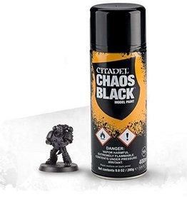 Games Workshop CHAOS BLACK SPRAY (6-PACK)