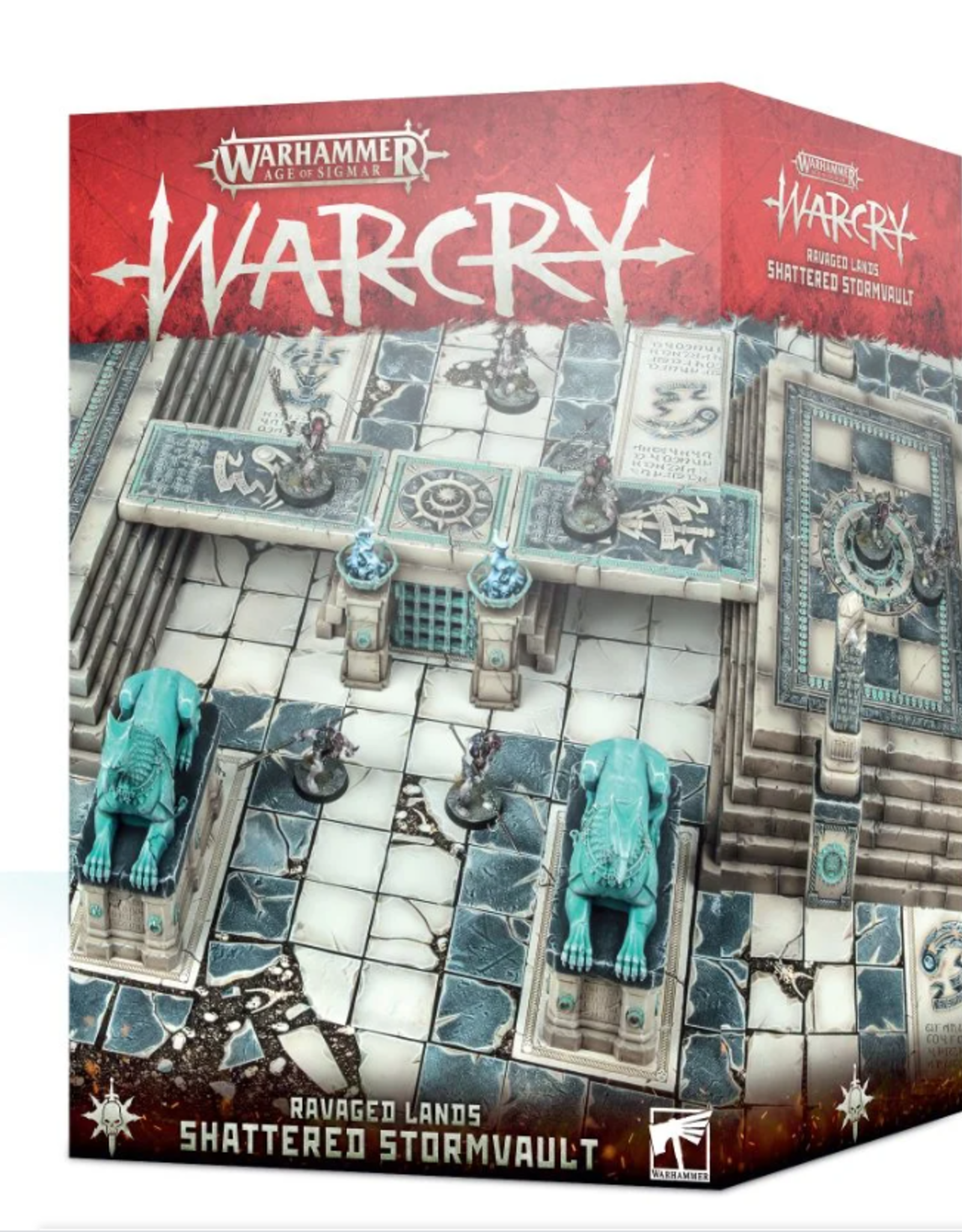 Games Workshop Warcry Shattered Stormvault