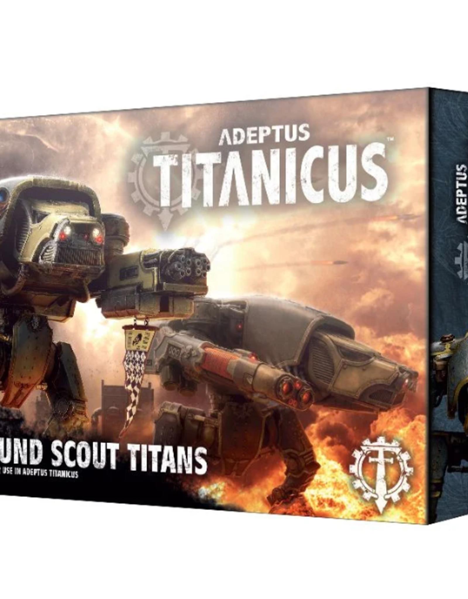 Games Workshop Adeptus Titanicus: Warhound Scout Titans